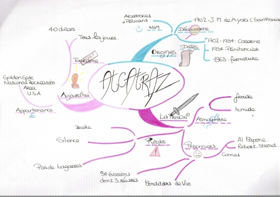 Mind Mapping Etudiant (Alcatraz)